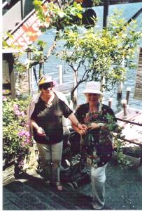Lugano, Elvetia cu Svetlana Paleologu Matta, 2005.