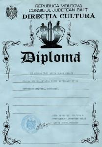 16. Diploma Balti