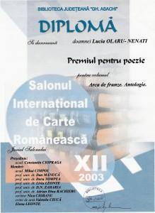 3. .Diploma poezie