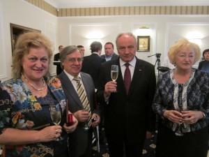 Decorare Chisinau, cu Presedintele Republicii Moldova, N. Dabija, Catinca  Agachi