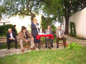 Lansare Existenta poetica a lui Bacovia, Bacau 20 sept. 2013