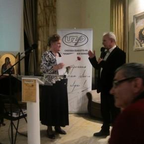 Distincţie acordată scriitoarei Lucia Olaru Nenati la Institutul Cultural Român  din Bucureşti